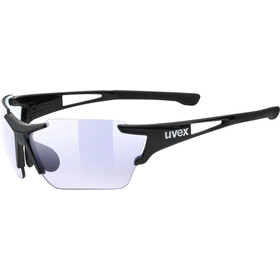 UVEX Sportstyle 803 Race Vario Brille Small black/blue